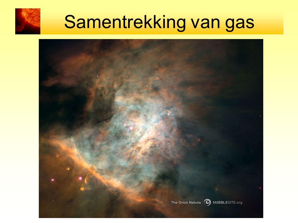 Samentrekking van gas