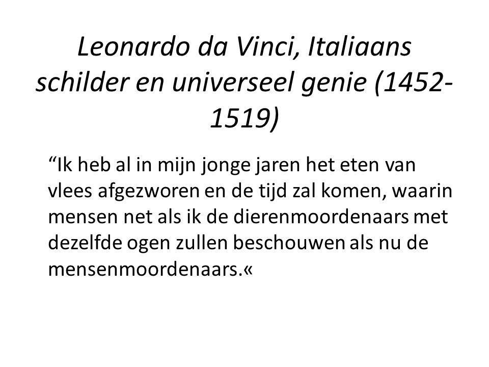 Leonardo da Vinci, Italiaans schilder en universeel genie (1452-1519)