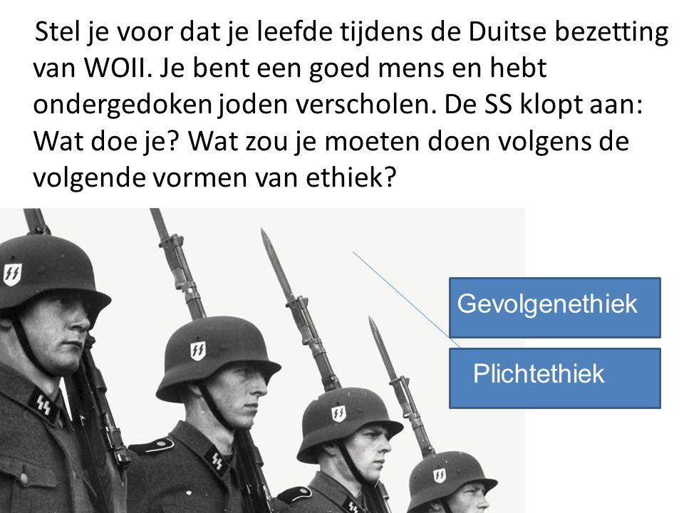 Stel je voor dat je leefde tijdens de Duitse bezetting van WOII