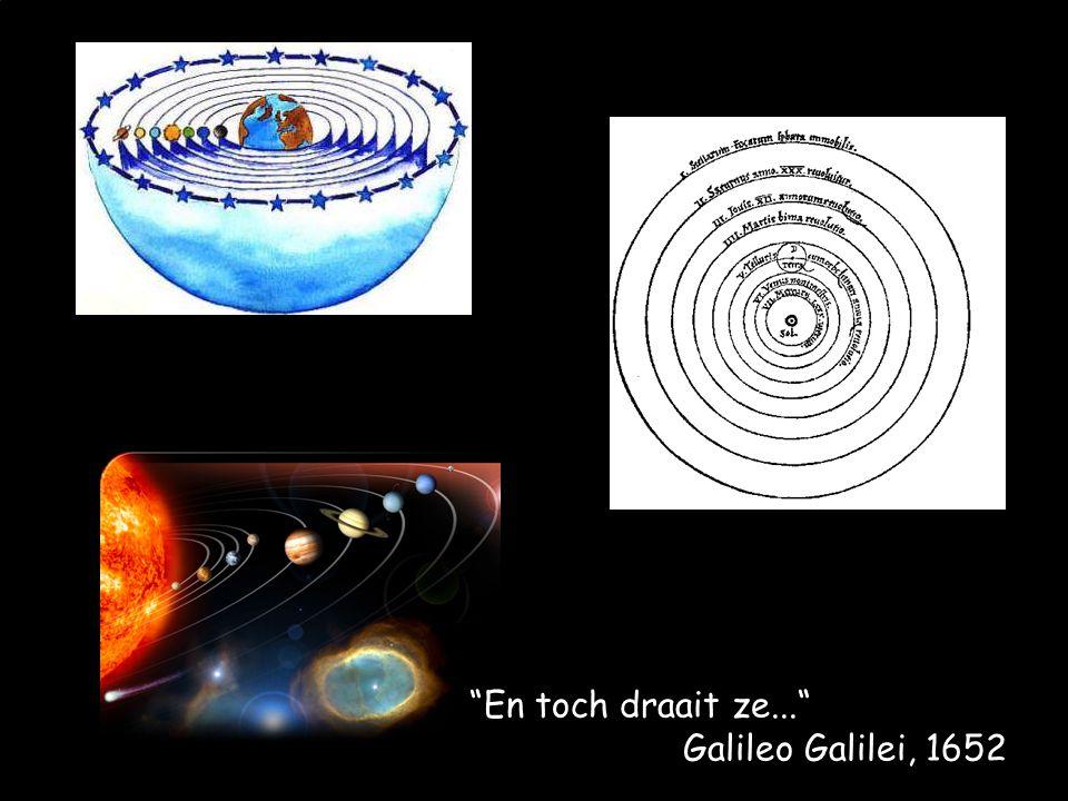 En toch draait ze... Galileo Galilei, 1652
