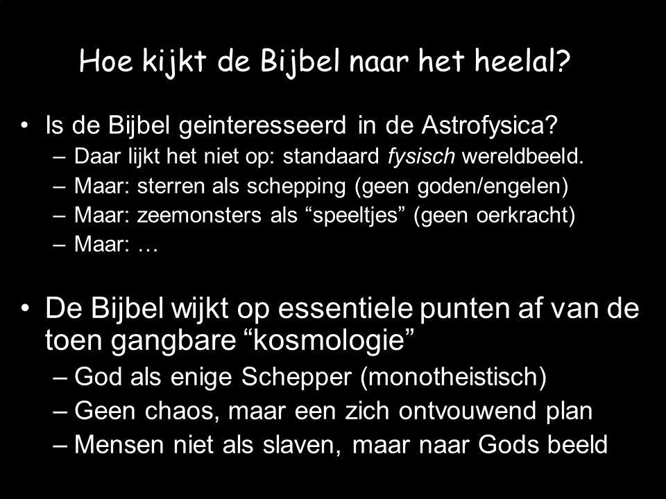 Hoe kijkt de Bijbel naar het heelal