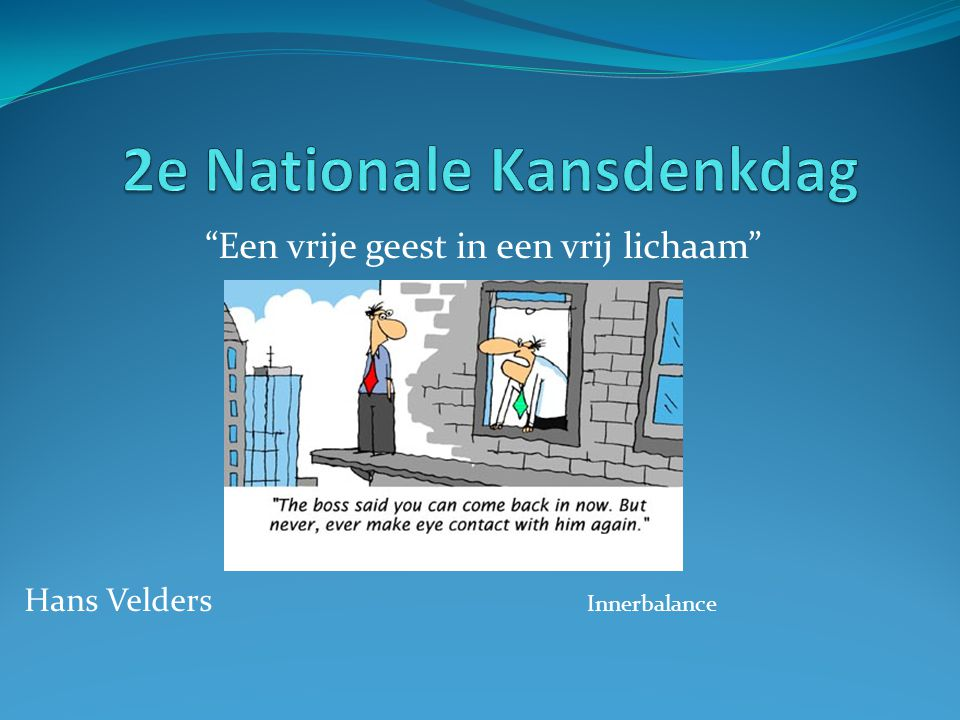 2e Nationale Kansdenkdag