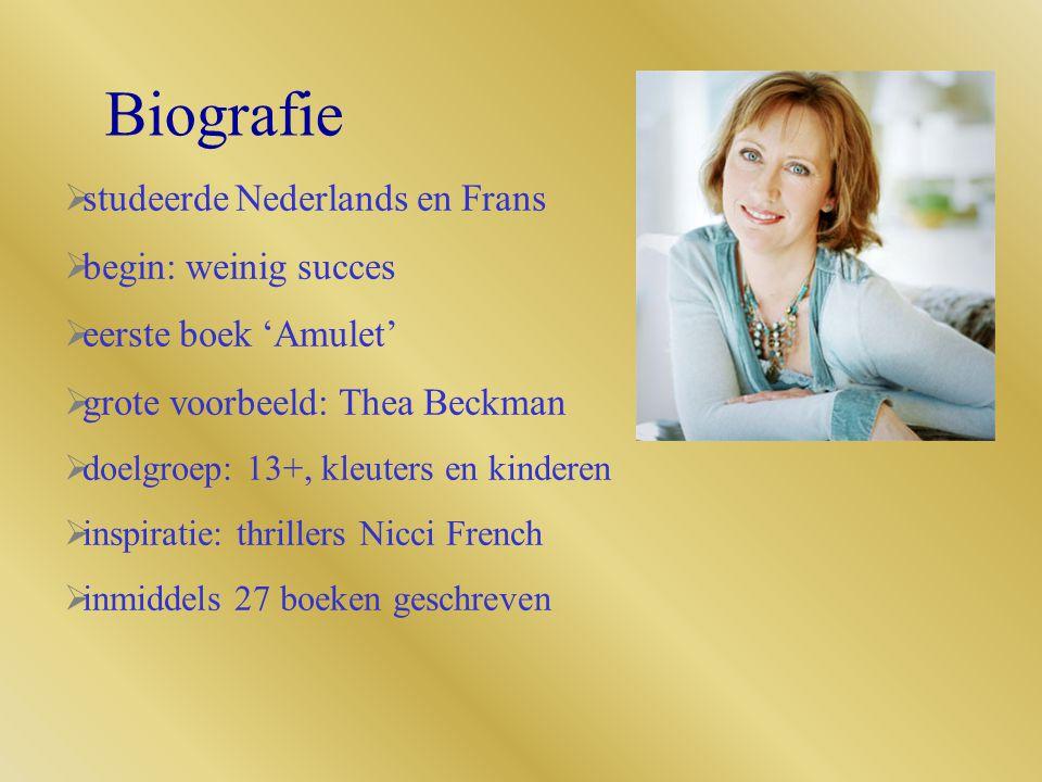 Biografie studeerde Nederlands en Frans begin: weinig succes