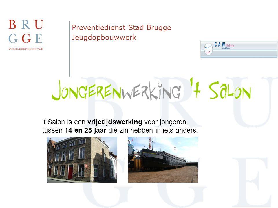 Preventiedienst Stad Brugge Jeugdopbouwwerk