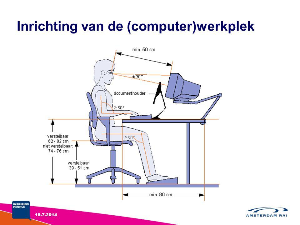 Inrichting van de (computer)werkplek