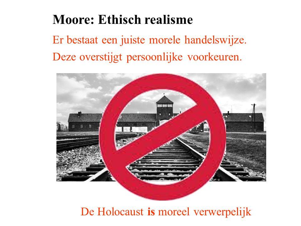 Moore: Ethisch realisme