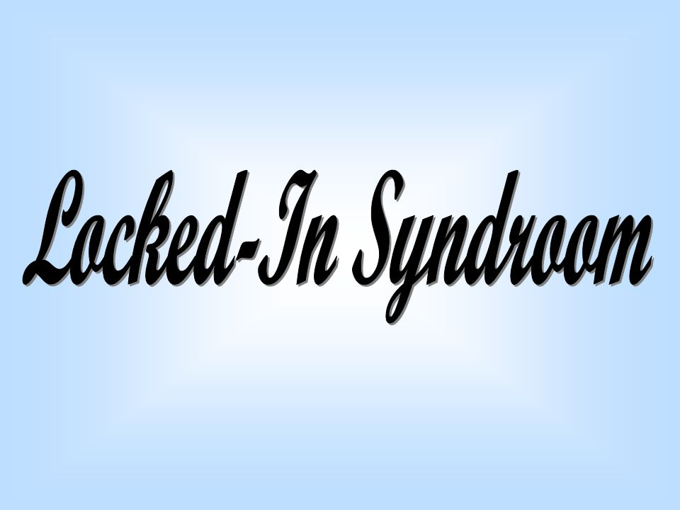 Locked-In Syndroom