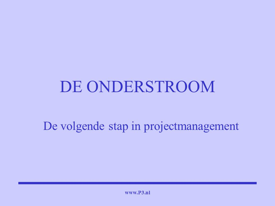 De volgende stap in projectmanagement