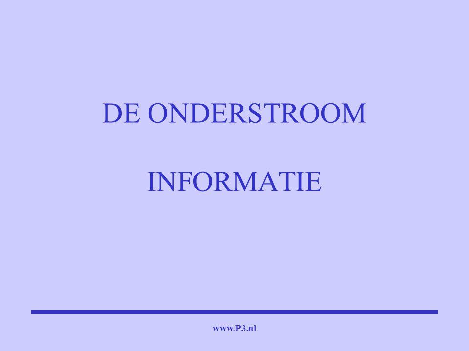 DE ONDERSTROOM INFORMATIE