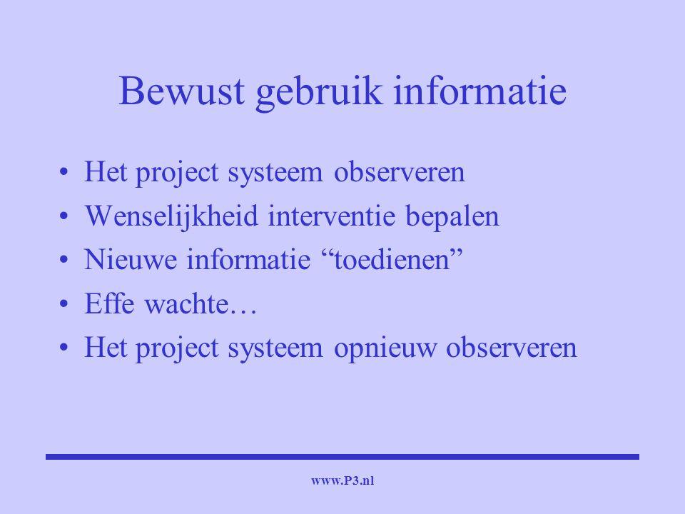 Bewust gebruik informatie