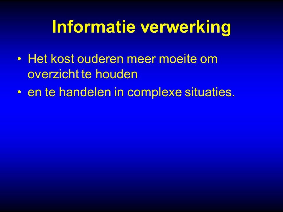 Informatie verwerking