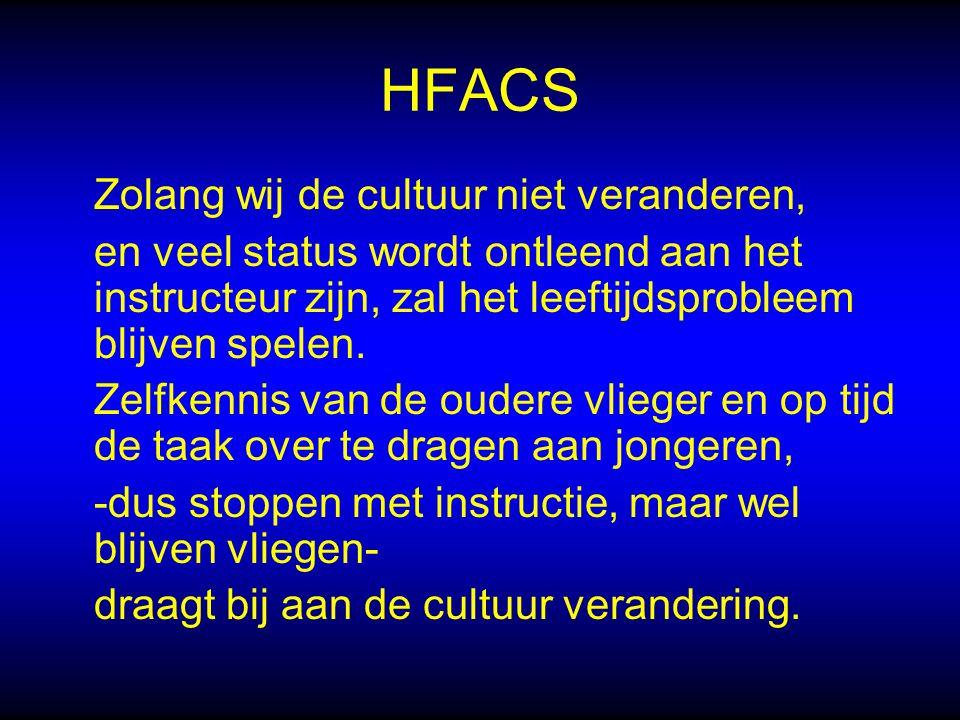 HFACS Zolang wij de cultuur niet veranderen,