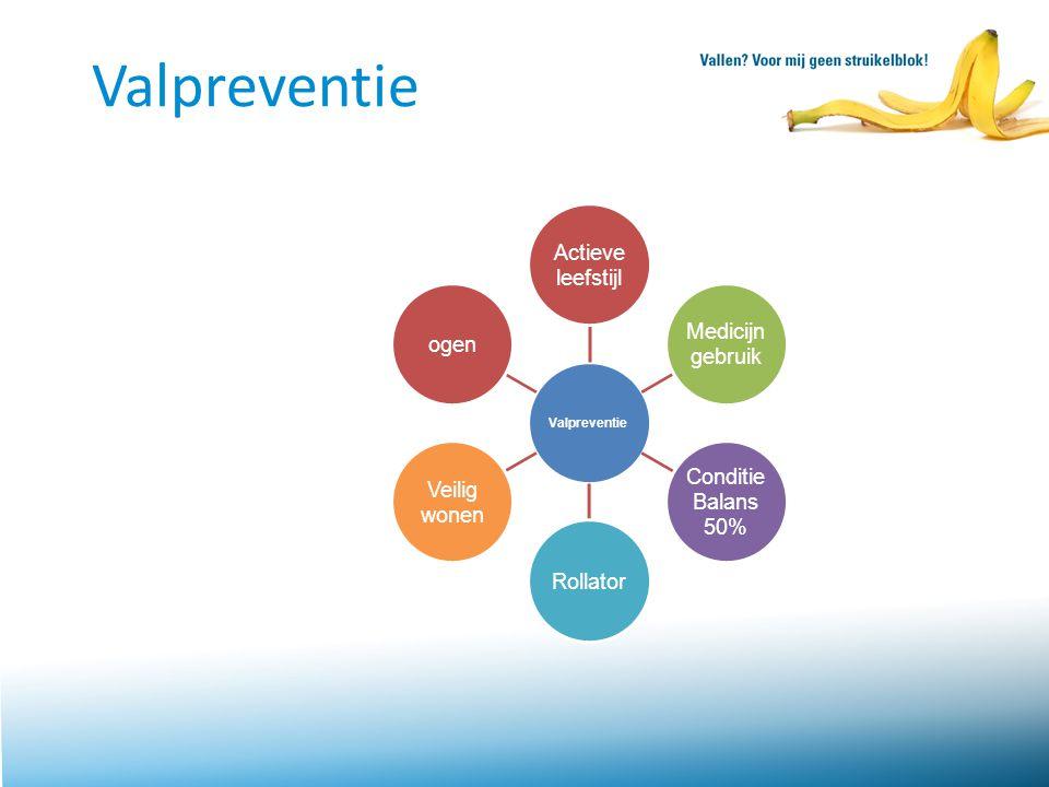 Valpreventie Dit is de schijf van 6 wat betreft Valpreventie.