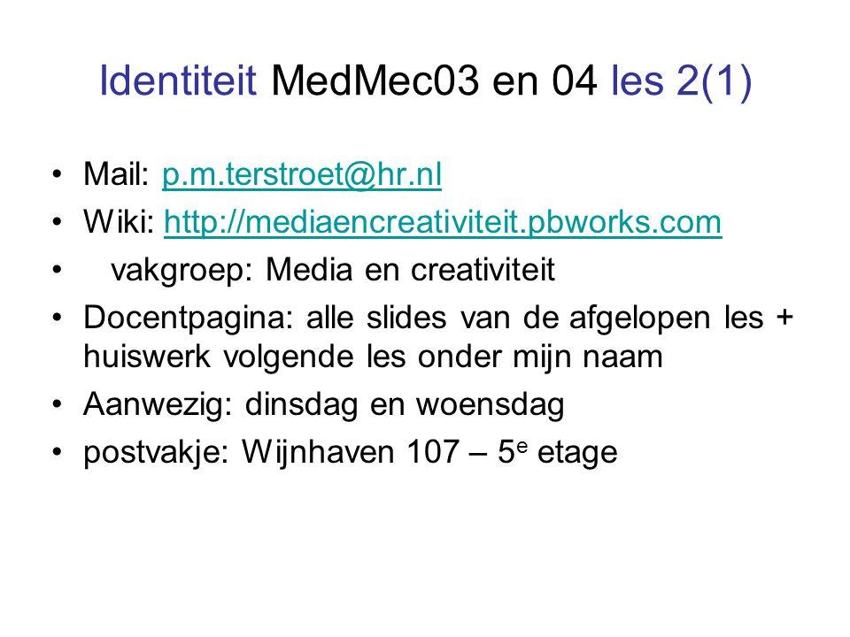 Identiteit MedMec03 en 04 les 2(1)
