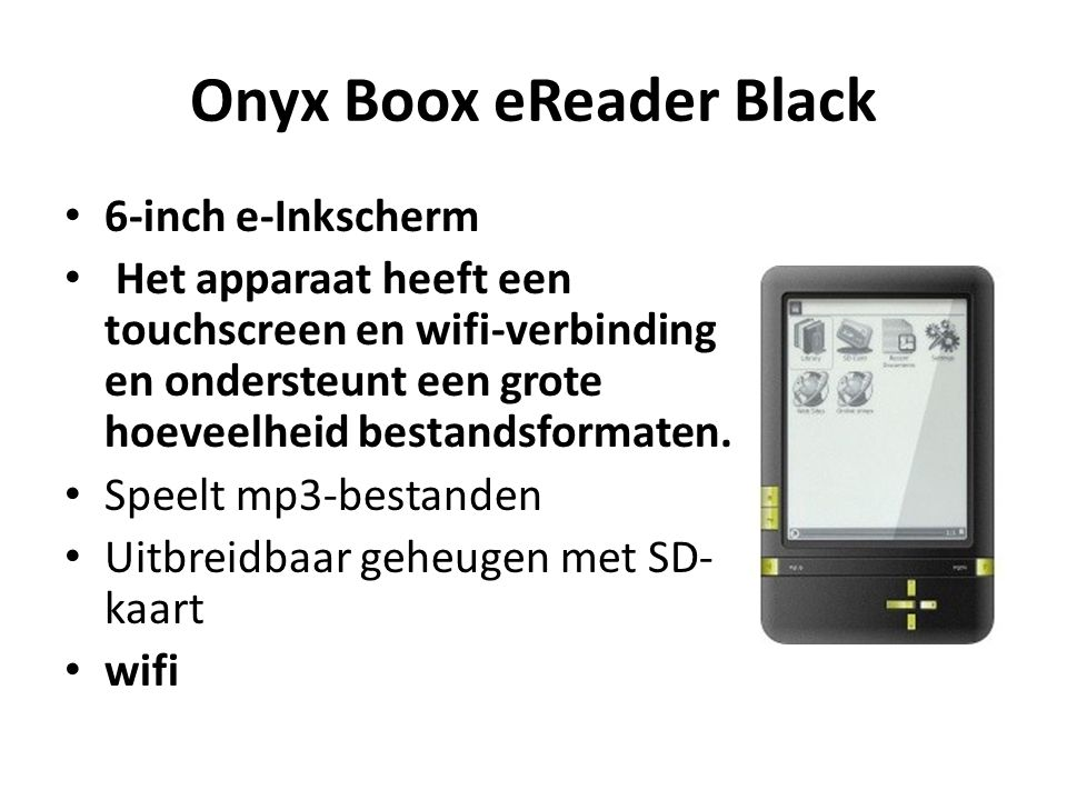 Onyx Boox eReader Black