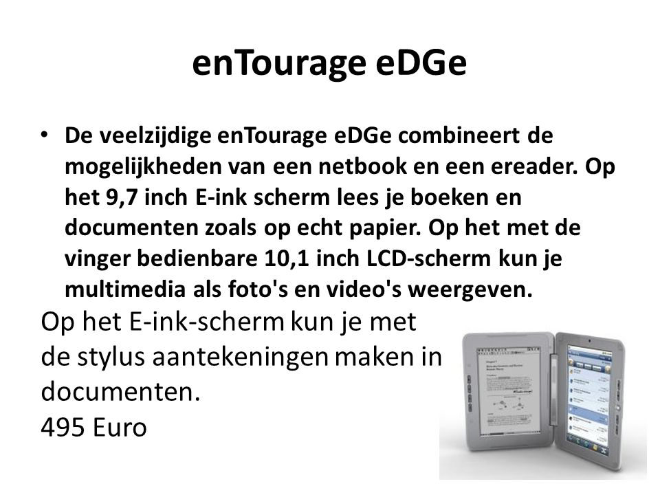enTourage eDGe