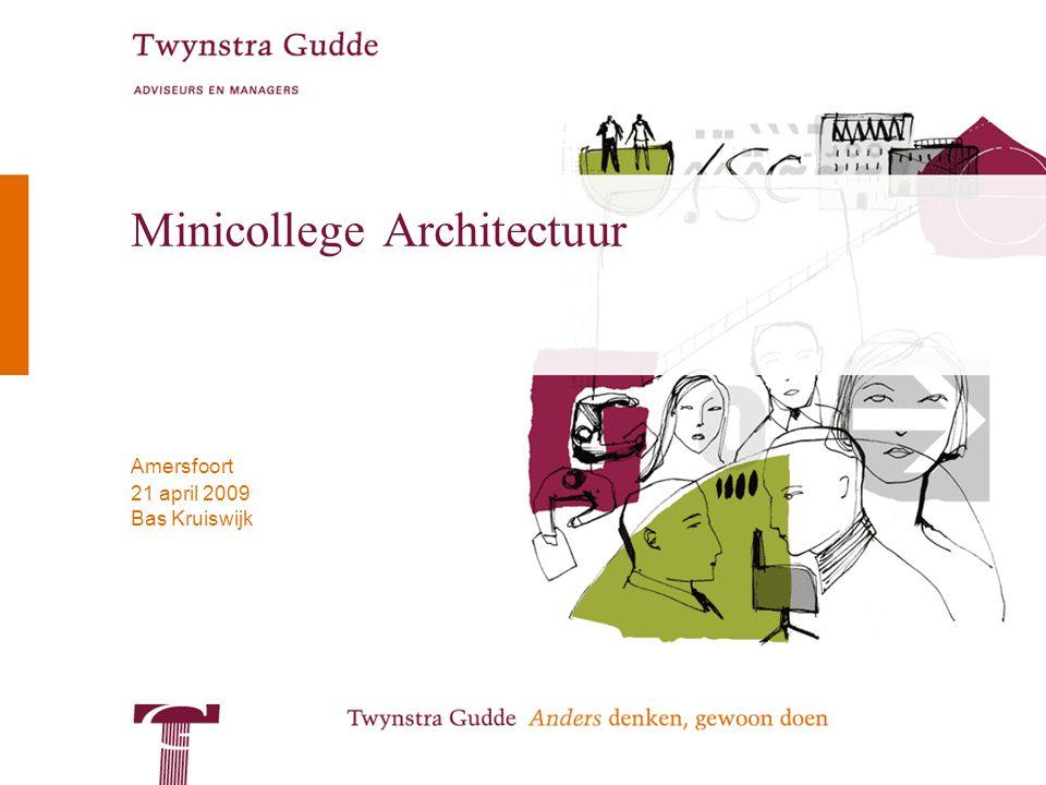 Minicollege Architectuur