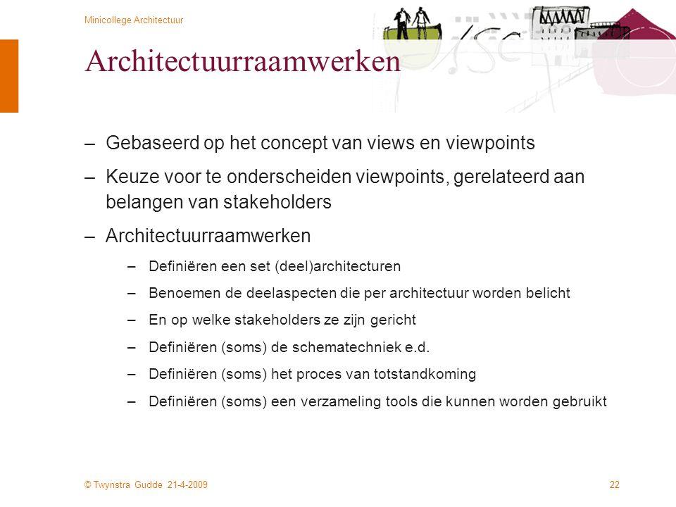Architectuurraamwerken