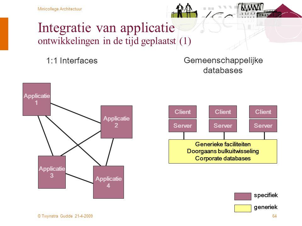 Integratie van applicatie ontwikkelingen in de tijd geplaatst (1)