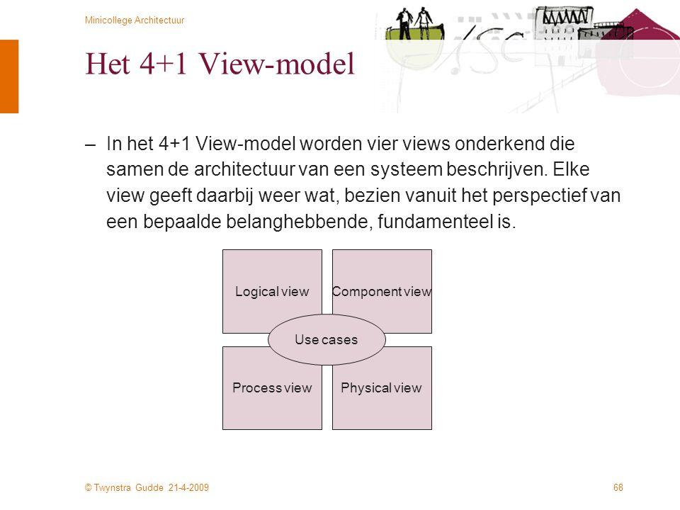 Het 4+1 View-model