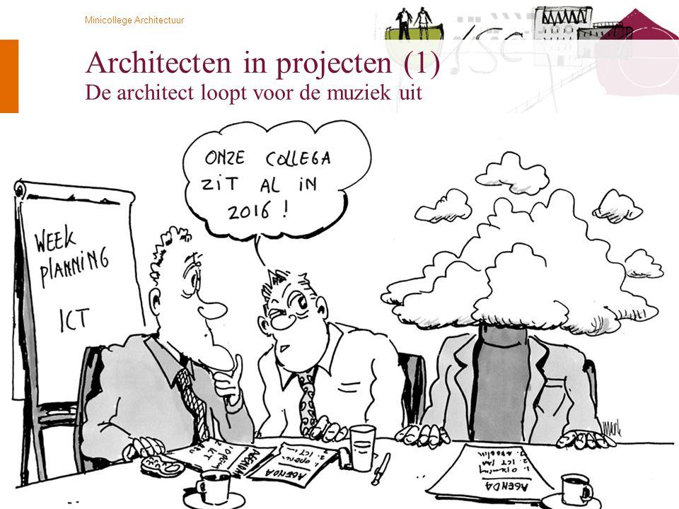Architecten in projecten (1) De architect loopt voor de muziek uit