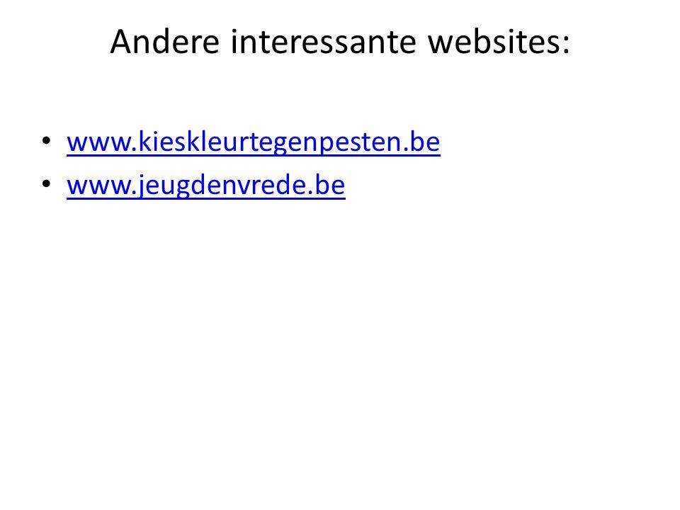 Andere interessante websites: