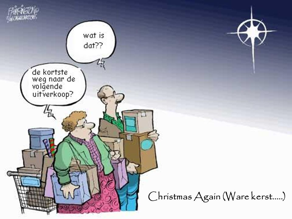 Christmas Again (Ware kerst.....)