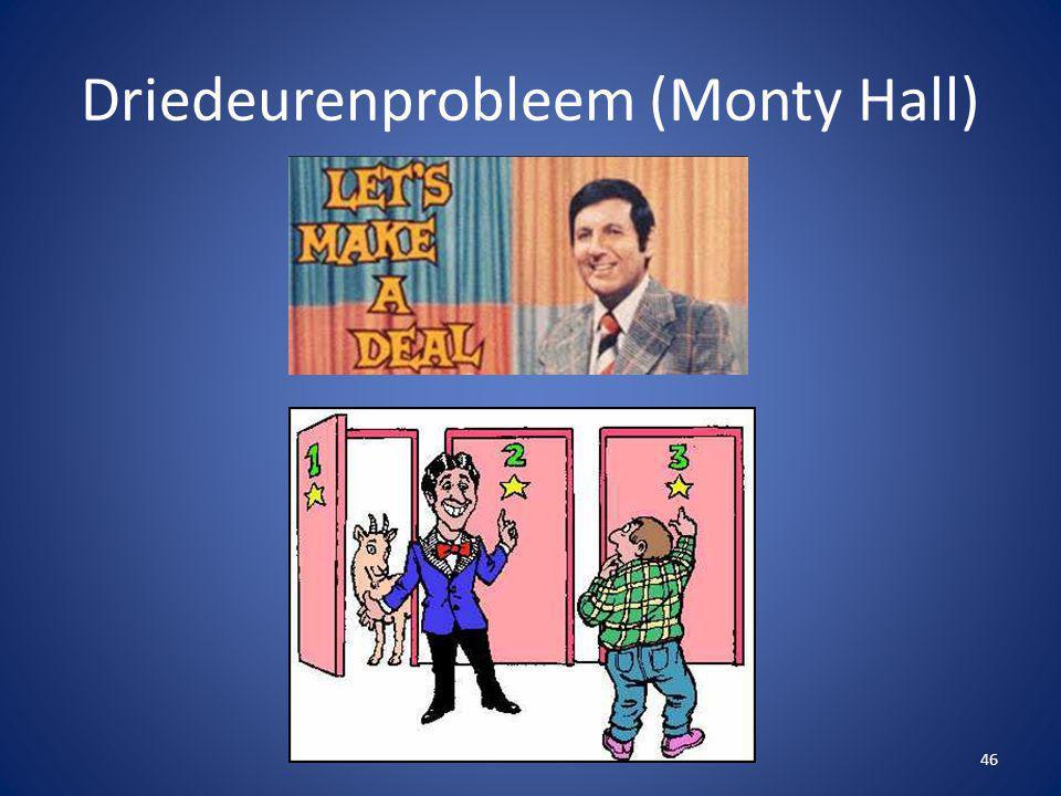 Driedeurenprobleem (Monty Hall)