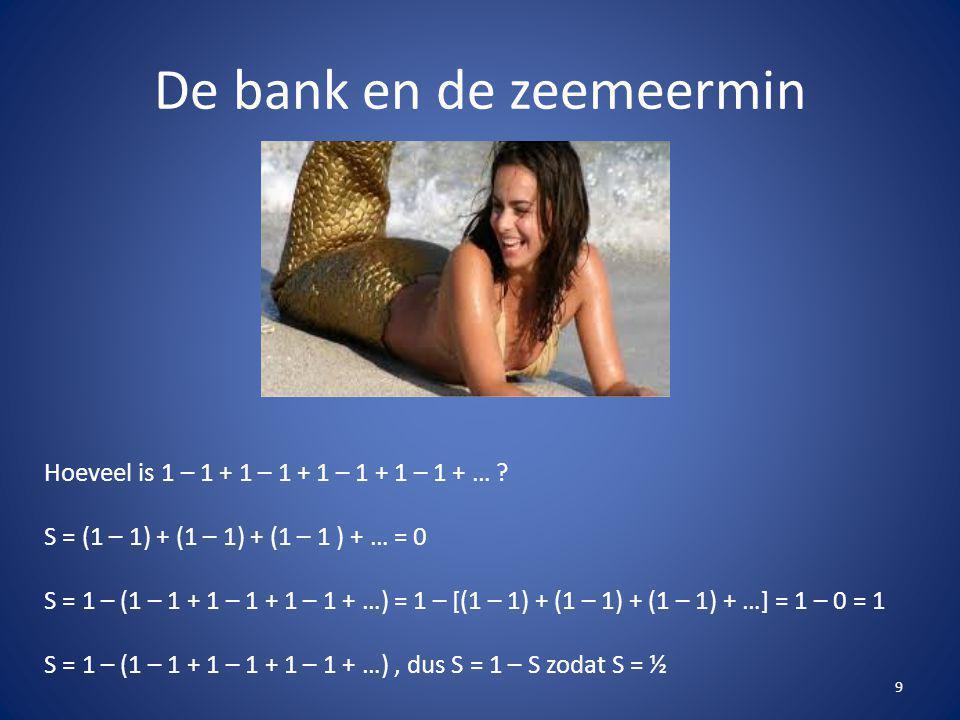 De bank en de zeemeermin