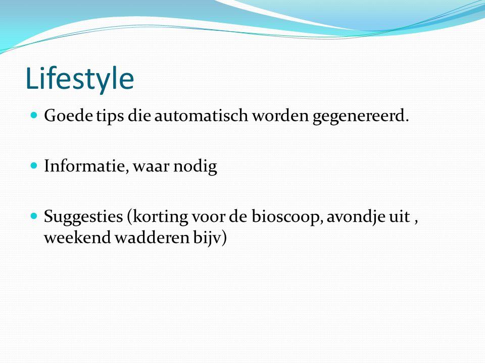 Lifestyle Goede tips die automatisch worden gegenereerd.