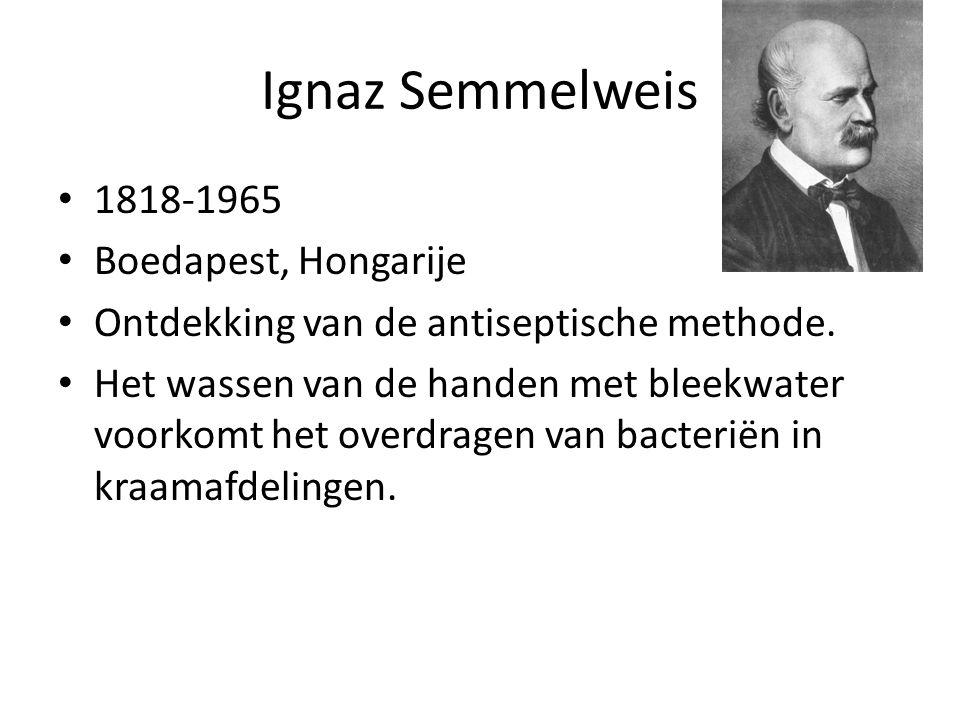 Ignaz Semmelweis 1818-1965 Boedapest, Hongarije