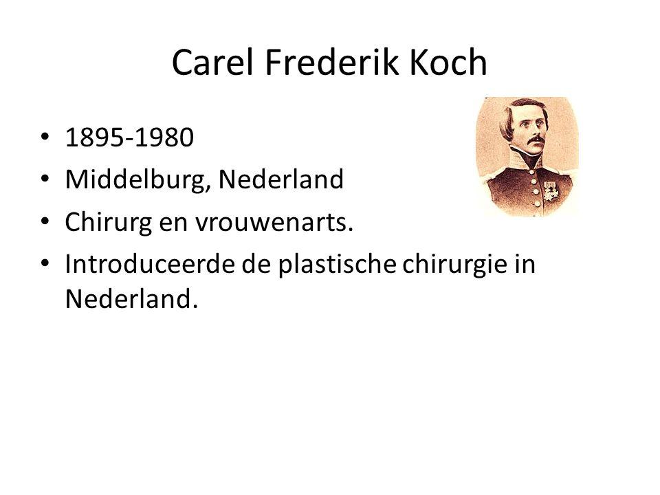 Carel Frederik Koch 1895-1980 Middelburg, Nederland