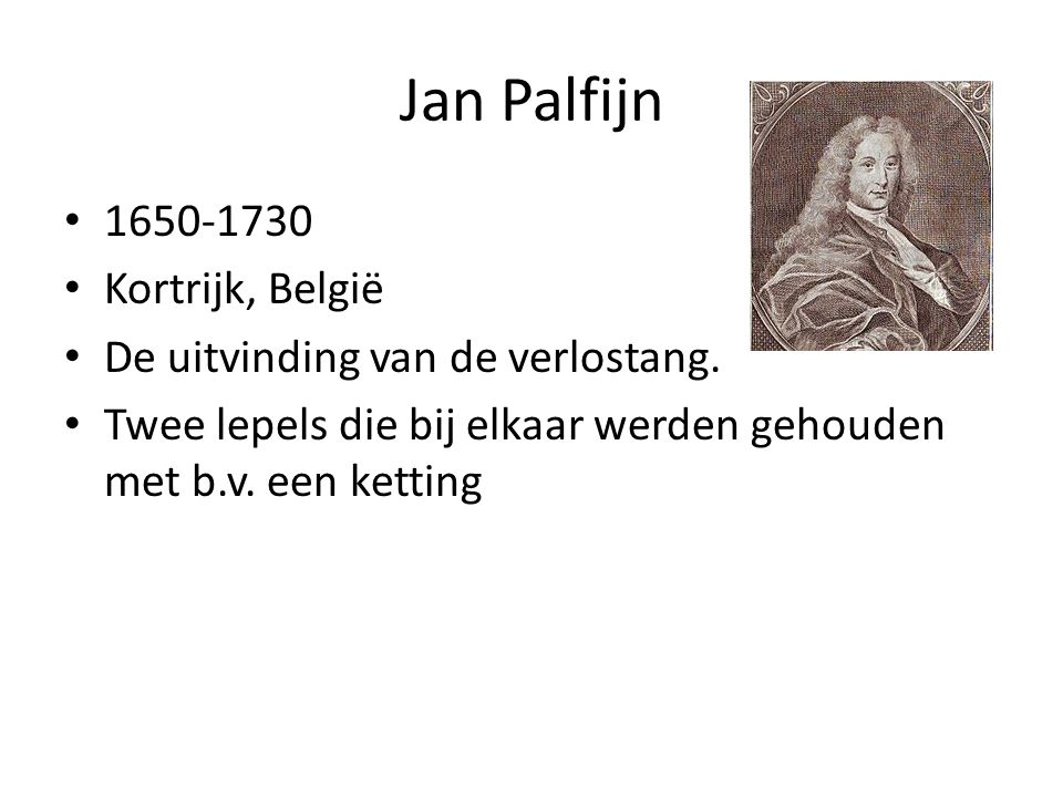 Jan Palfijn 1650-1730 Kortrijk, België
