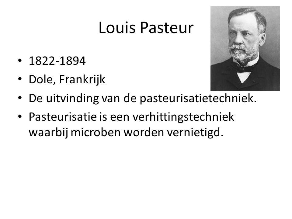 Louis Pasteur 1822-1894 Dole, Frankrijk
