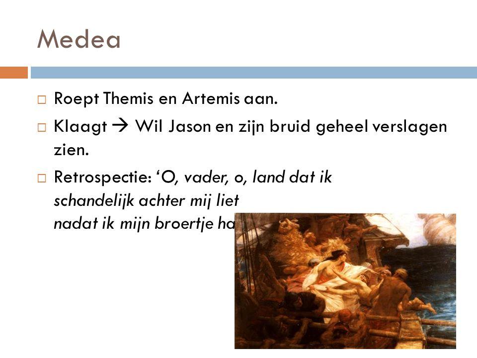 Medea Roept Themis en Artemis aan.