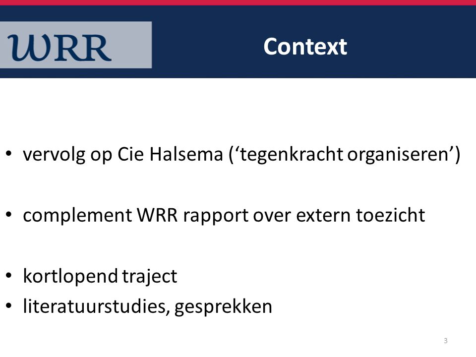 Context vervolg op Cie Halsema ('tegenkracht organiseren')
