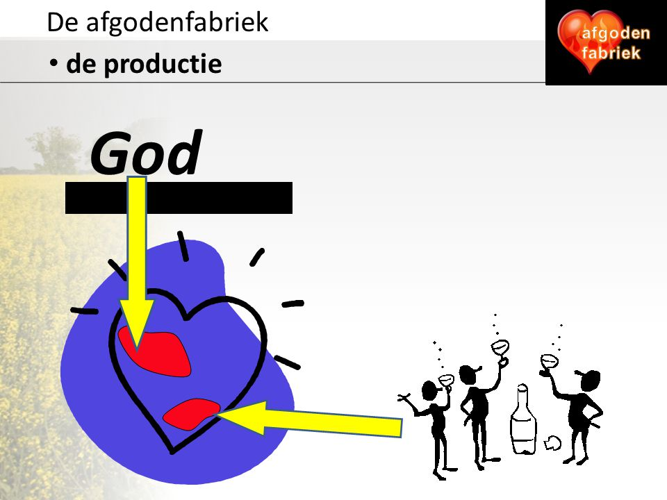 De afgodenfabriek afgoden fabriek de productie God