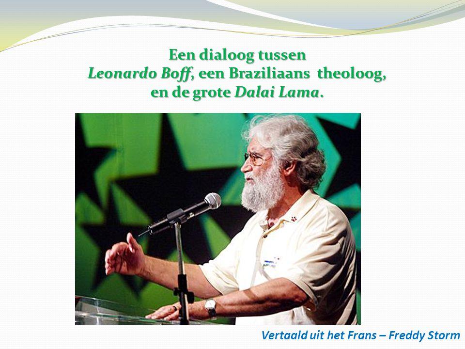 Leonardo Boff, een Braziliaans theoloog,