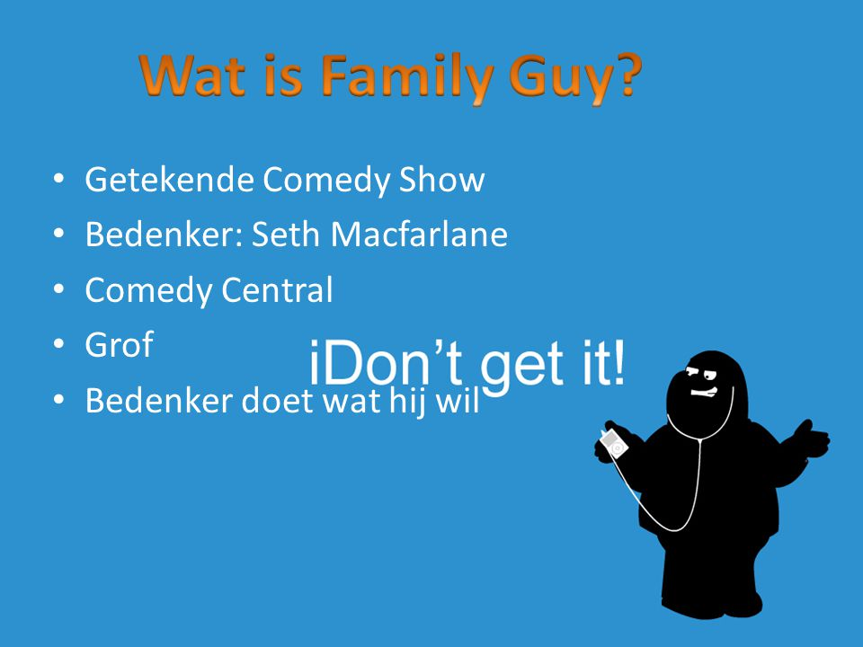 Wat is Family Guy Getekende Comedy Show Bedenker: Seth Macfarlane