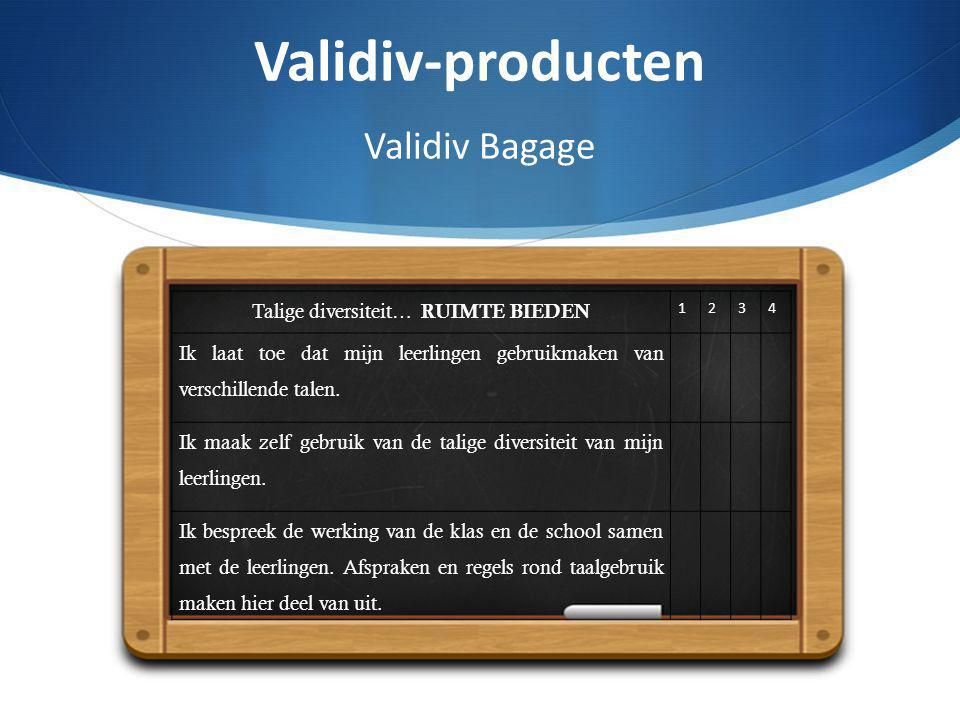 Validiv-producten Validiv Bagage