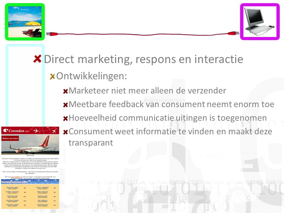 Direct marketing, respons en interactie