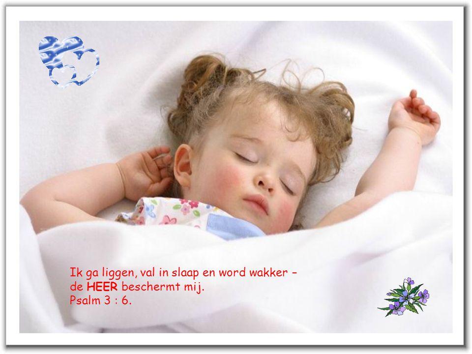 Ik ga liggen, val in slaap en word wakker –