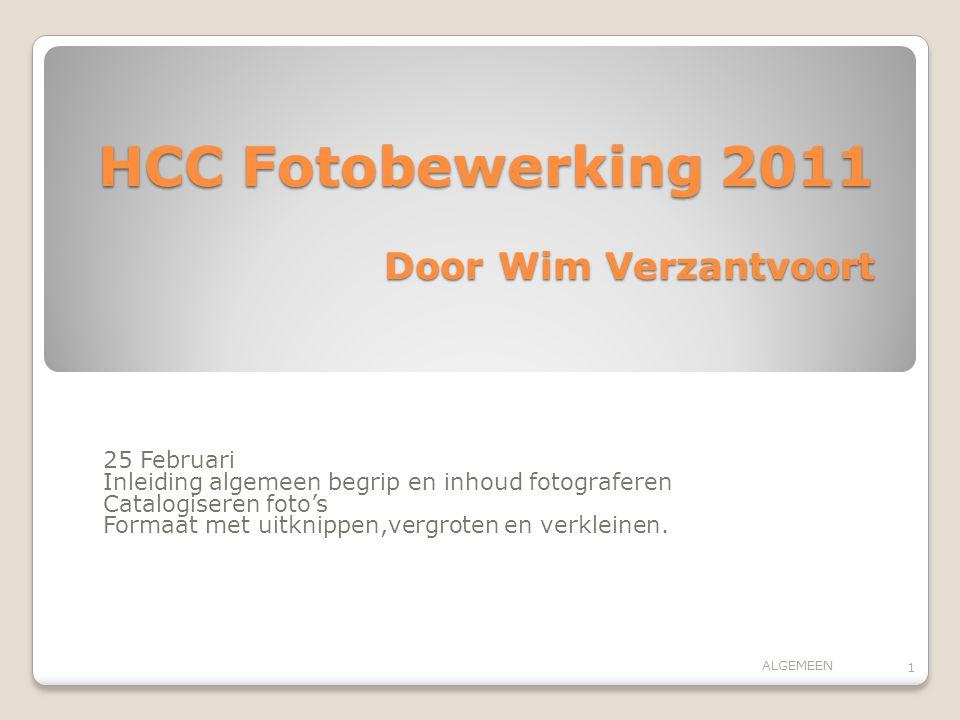 HCC Fotobewerking 2011 Door Wim Verzantvoort