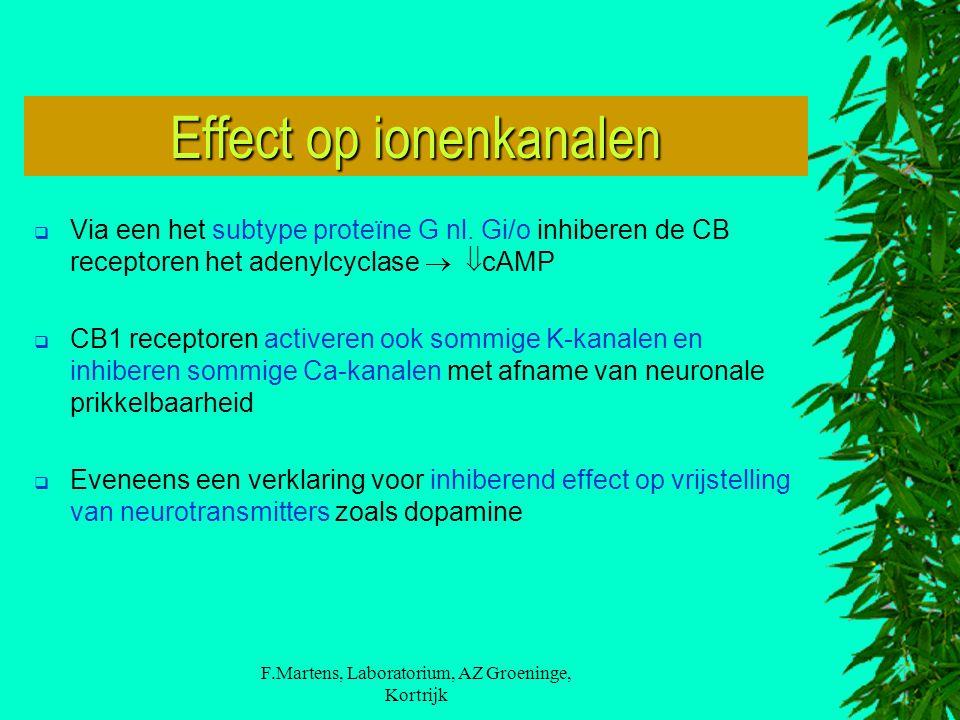 Effect op ionenkanalen