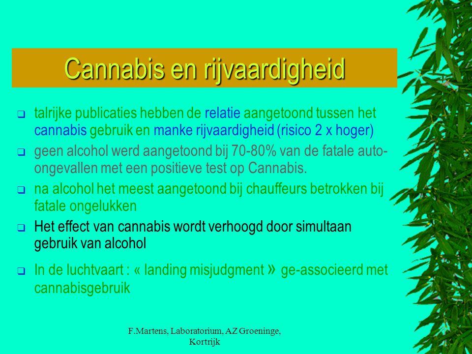 Cannabis en rijvaardigheid