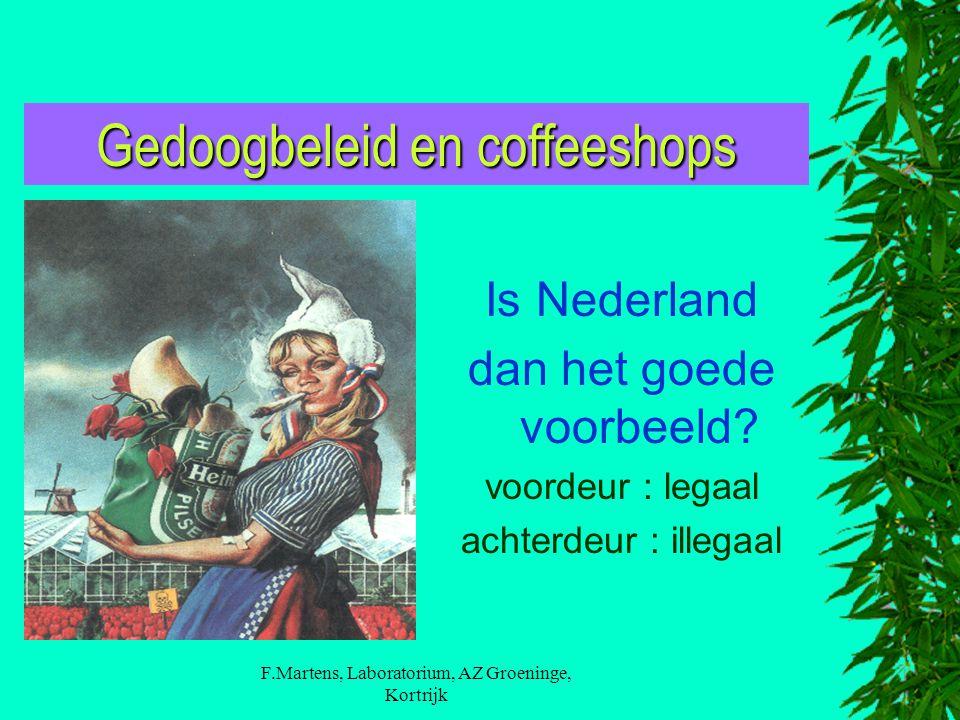 Gedoogbeleid en coffeeshops