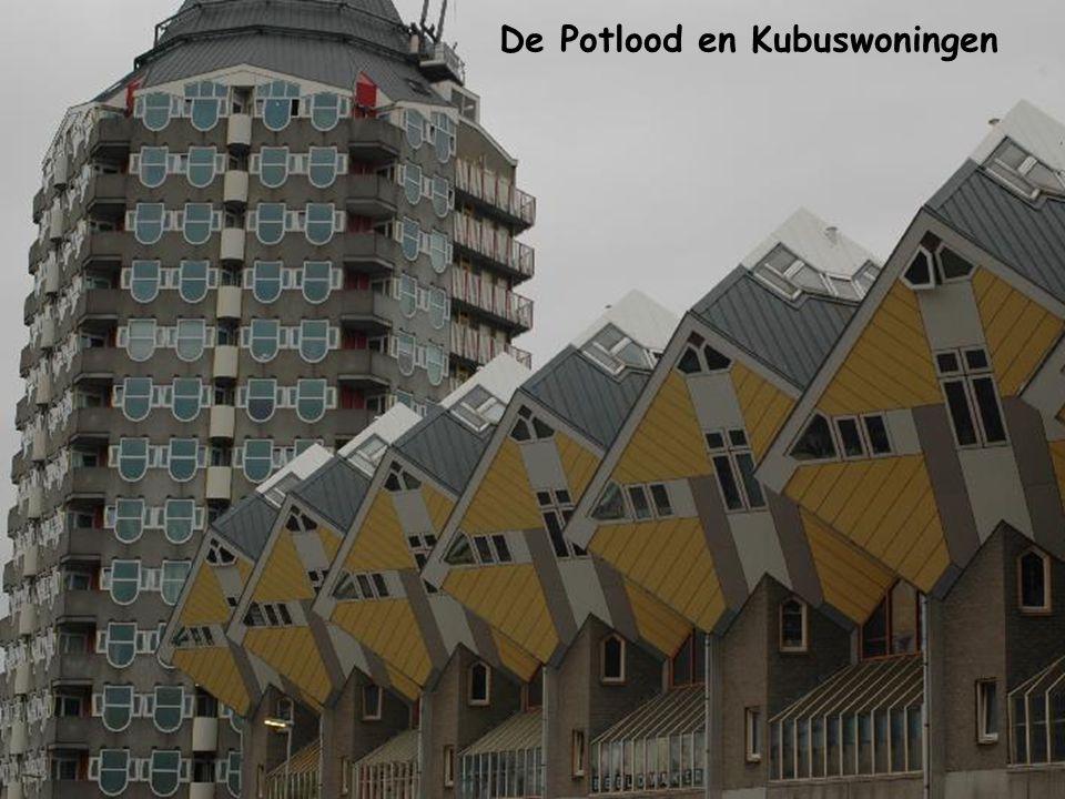 De Potlood en Kubuswoningen