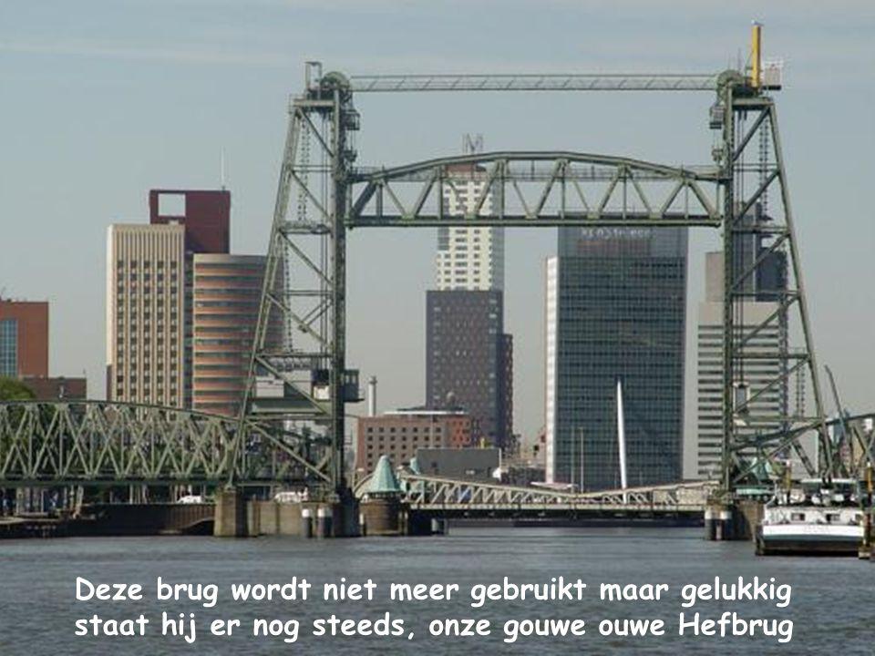 Deze brug wordt niet meer gebruikt maar gelukkig