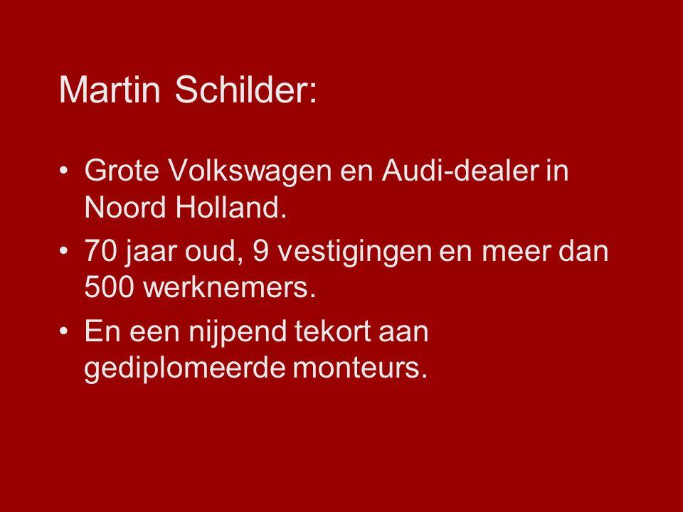 Martin Schilder: Grote Volkswagen en Audi-dealer in Noord Holland.
