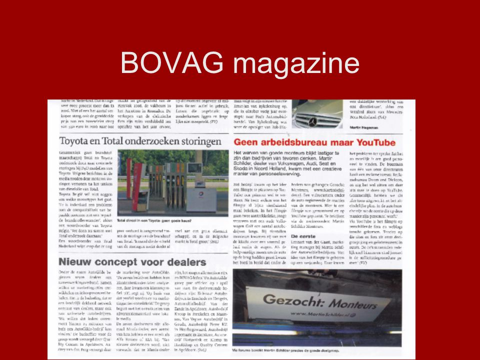 BOVAG magazine